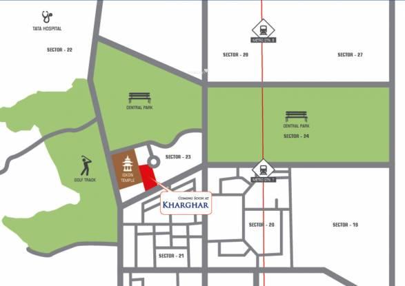 Bhagwati Greens 1 Location Plan
