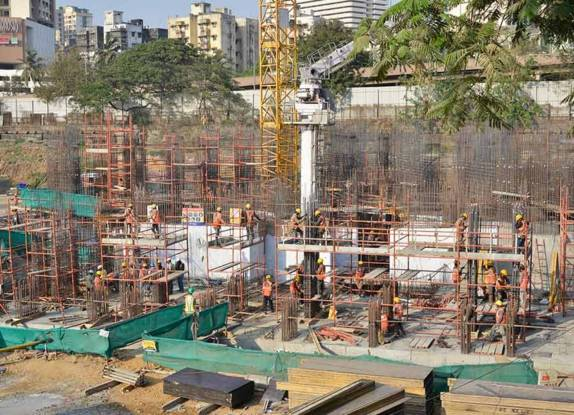 Oberoi Sky City Towers A To D Construction Status