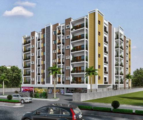 Balaji Gravity Apartment Elevation