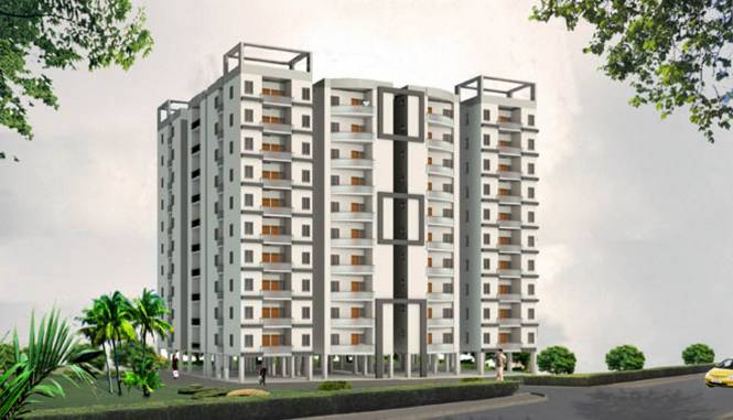 Balaji Radha Krishna Apartment Elevation