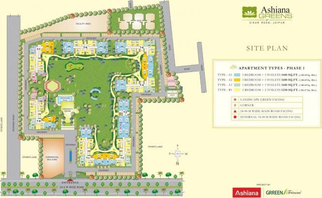 Ashiana Greens Master Plan