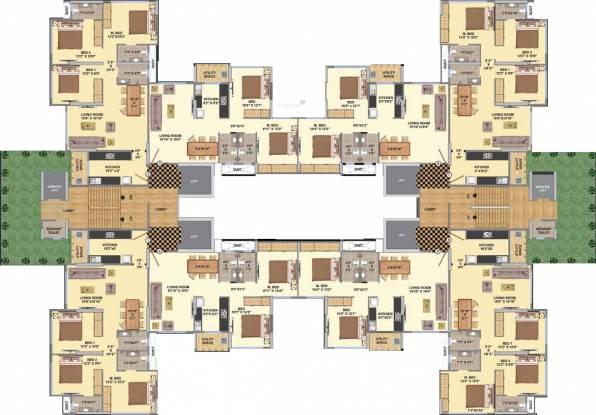 Paramvir La Maison Cluster Plan