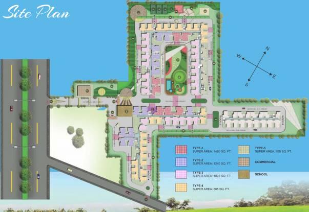 Techman Moti City Site Plan