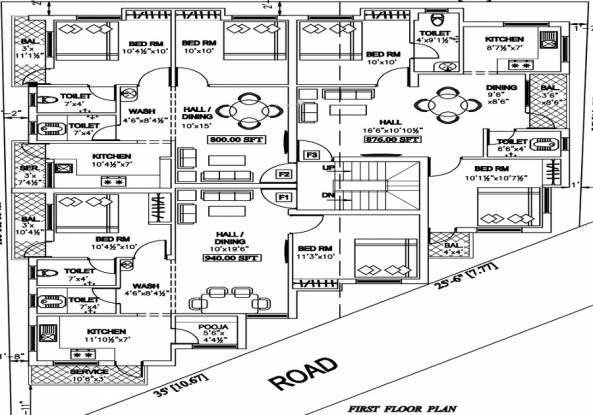 KL Balaji Nagar Cluster Plan