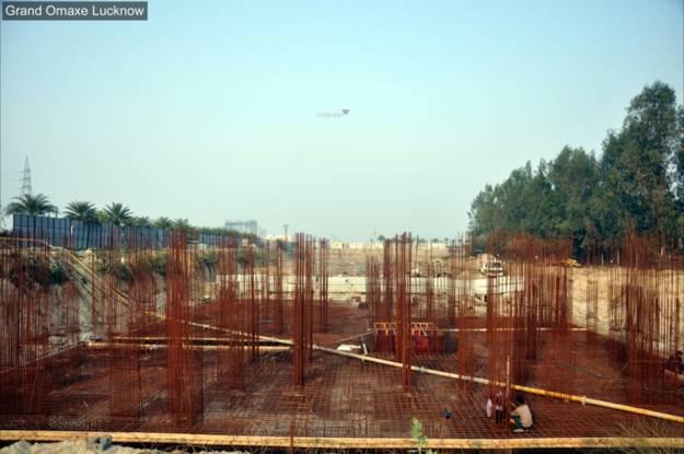 Omaxe Grand Construction Status