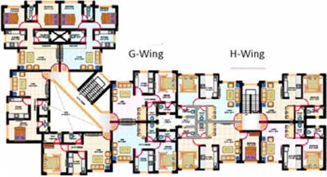 HGL Nand Dham Complex Cluster Plan