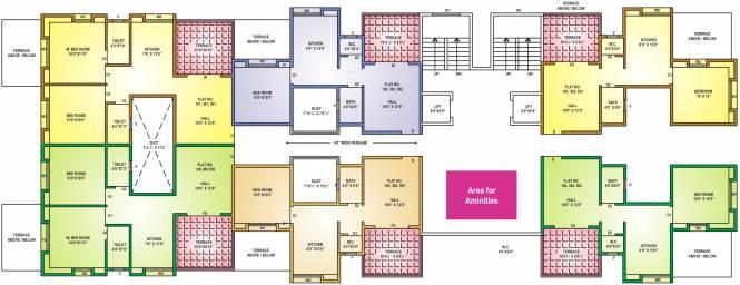 Aarav Florista Cluster Plan