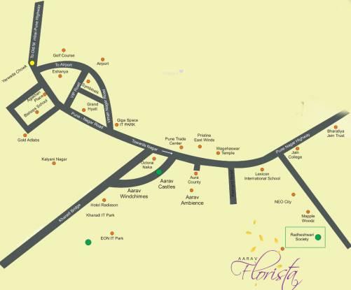 Aarav Florista Location Plan
