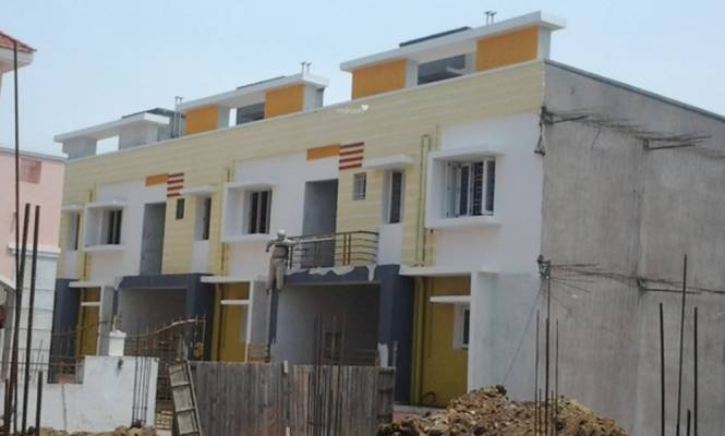Rajeswari Row House Construction Status