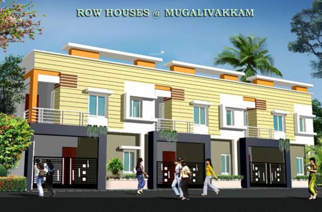 Rajeswari Row House Elevation