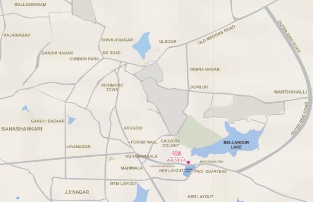 Advaitha Aksha Location Plan