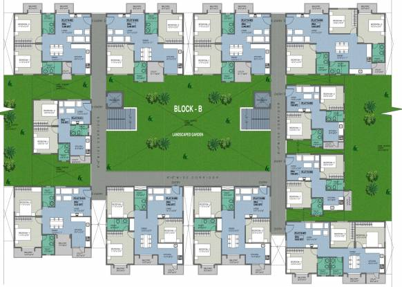 BSR White Breeze Cluster Plan