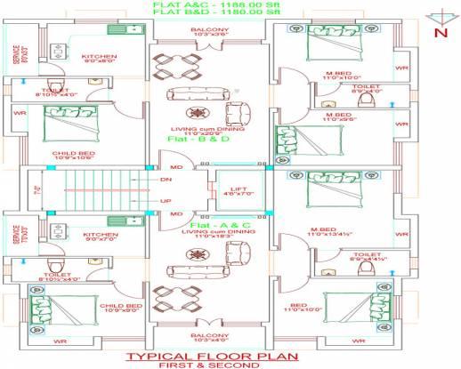 Golden Holborn Cluster Plan