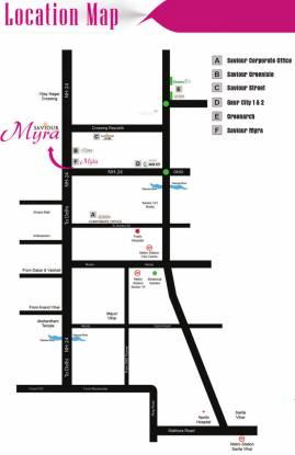 Saviour Myra Location Plan