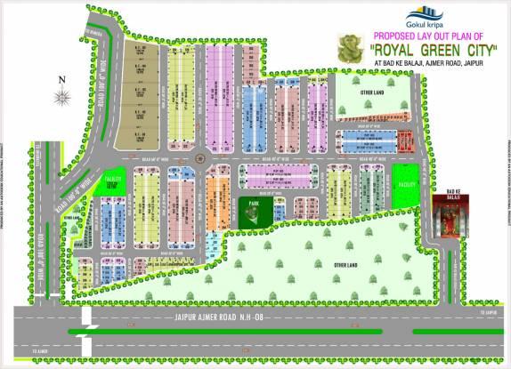 Gokul Kripa Royal Green City Layout Plan
