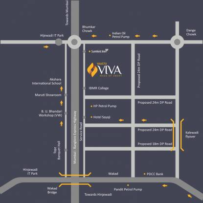 Bhandari Vaastu Viva ABCD Location Plan