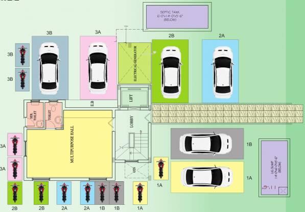 Roohi Sathyam Cluster Plan