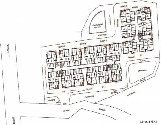 Prabhujee Enclave Layout Plan