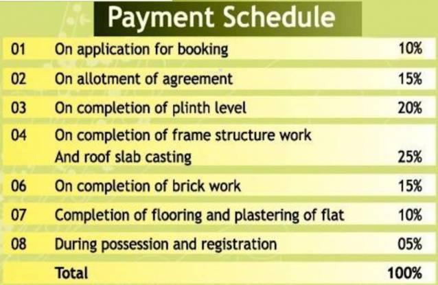 Prabhujee Enclave Payment Plan
