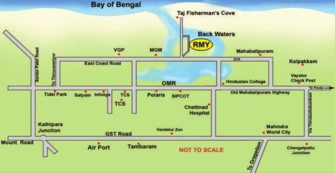 Right RMY Residency Location Plan