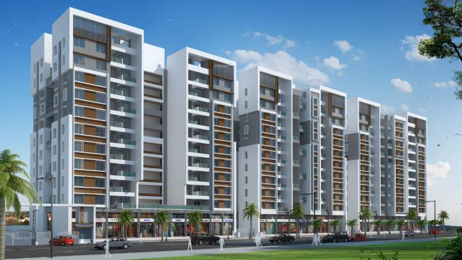 RR Riddhi Siddhi Heights Elevation