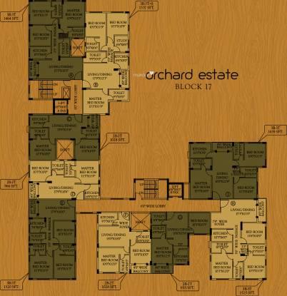 Master Orchard Estate Cluster Plan
