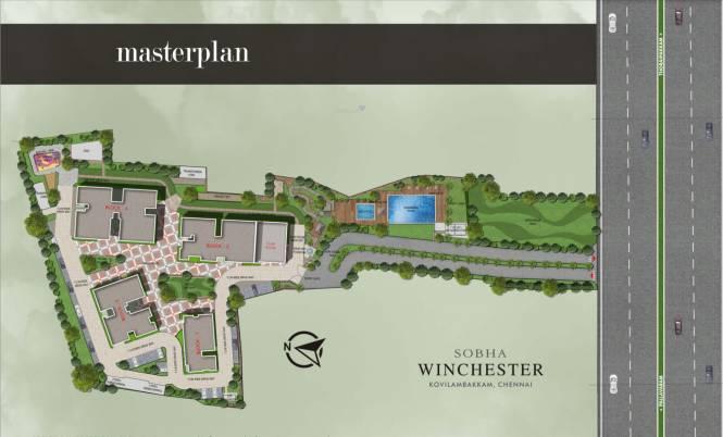 Sobha Winchester Master Plan