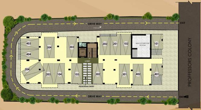 Pearl Symphony Cluster Plan