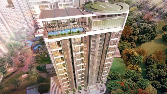 Bhartiya Nikoo Homes 2 Elevation