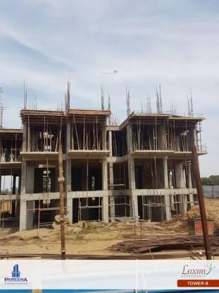 Pareena Laxmi Apartments Construction Status