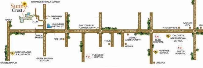 Starlite Sunny Crest Location Plan