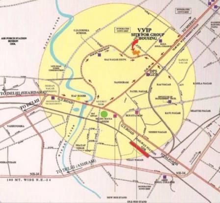 VVIP Nest Location Plan