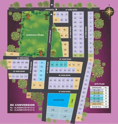 Tekton NRI Centre City Layout Plan