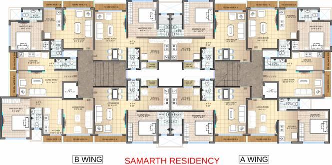 Jet Samarth Residency Cluster Plan