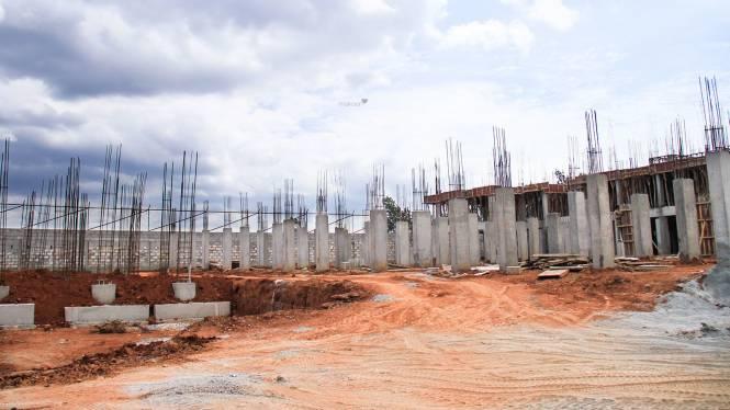 Sipani Jardin Construction Status