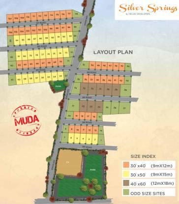 Hegde Silver Springs Layout Plan