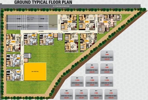 Mitra Solitaire Cluster Plan