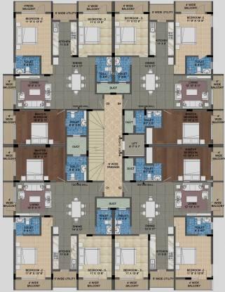 MSR Blue Petals Cluster Plan