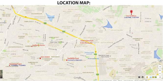 Reddy Royal Location Plan