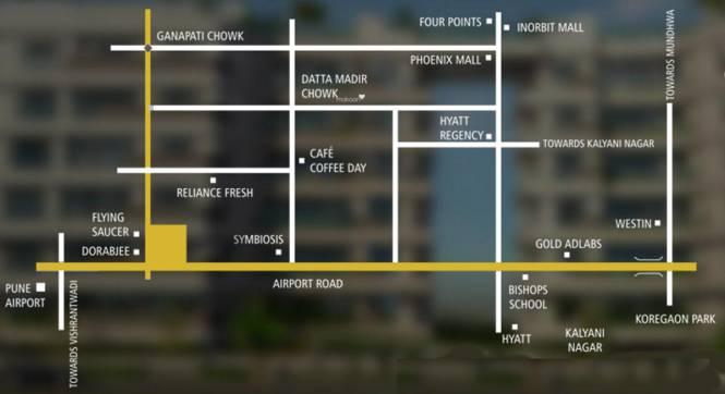 Naiknavare Eminence Location Plan