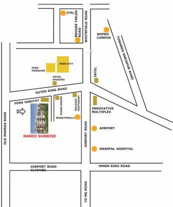 Nandi Sunrise Location Plan