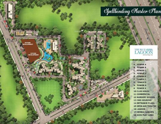 Orris Blue Lagoon Master Plan