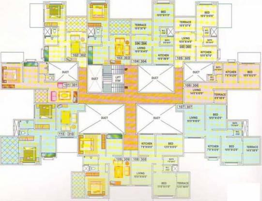 Sankla PS Villa Cluster Plan
