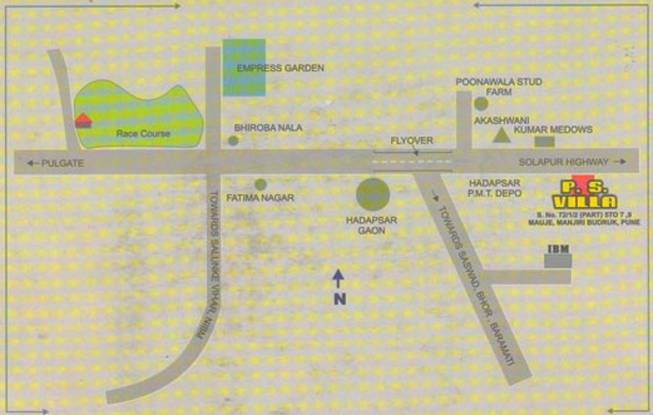 Sankla PS Villa Location Plan