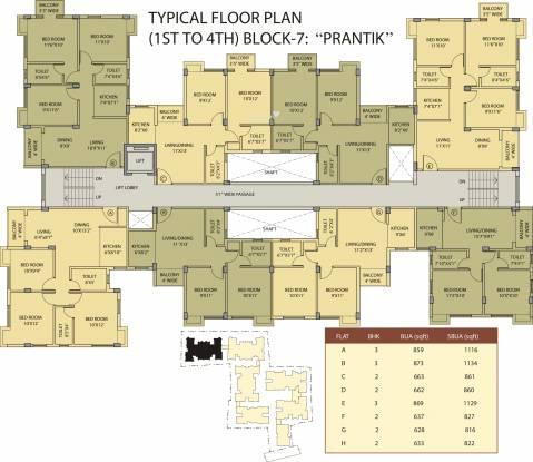 Riya Gitanjali Cluster Plan