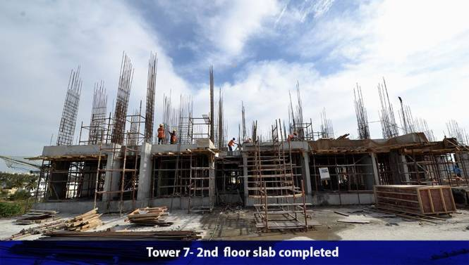 Salarpuria Sattva Divinity Construction Status
