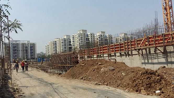 Kalpataru Crescendo Construction Status