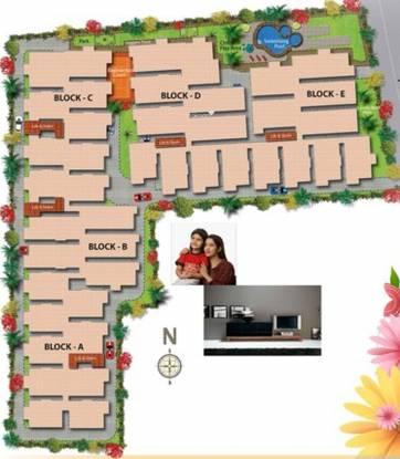 SVS Ananda Nilayam Site Plan