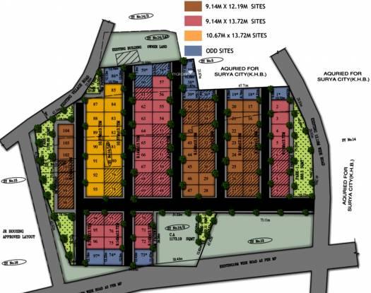 Golden Utopia Layout Plan