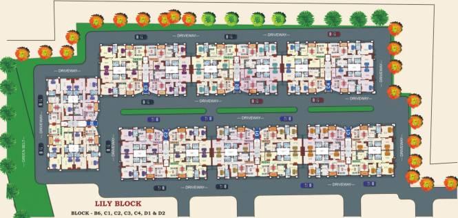 Sreevatsa Global Village Cluster Plan